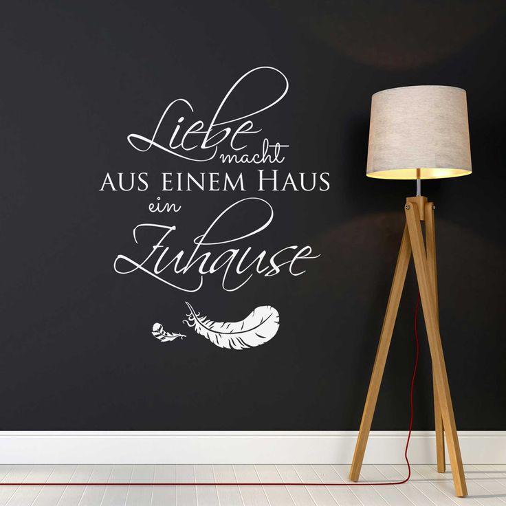 21 best Wandtattoo Zitate und Sprüche images on Pinterest - wandtattoos spr che k che