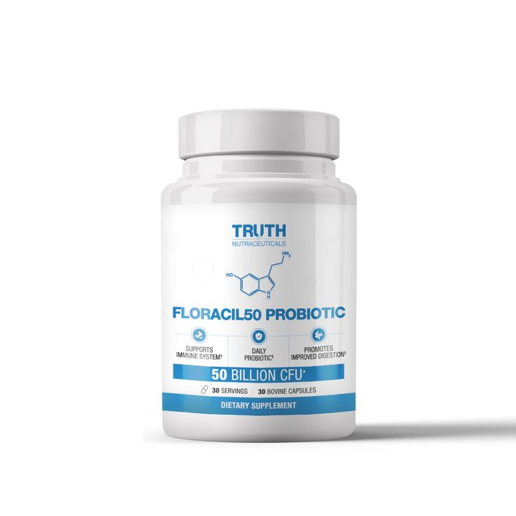 FLORACIL50 - Probiotic With Lactobacillus Rhamnosus and Reuteri