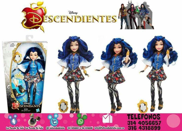 Muñeca Evie Los Descendientes Disney.