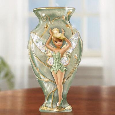 Disney Tinkerbell Pretty Little Pixie Lena Liu Vase NIP | eBay