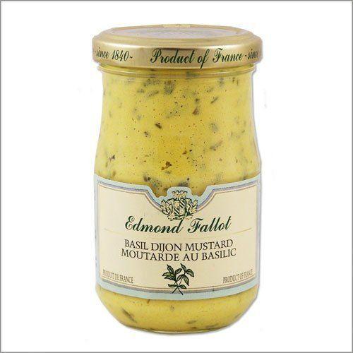 Edmond Fallot Basil Dijon Mustard --  (http://www.supermarketitaly.com/edmond-fallot-basil-dijon-mustard-7-4oz/)