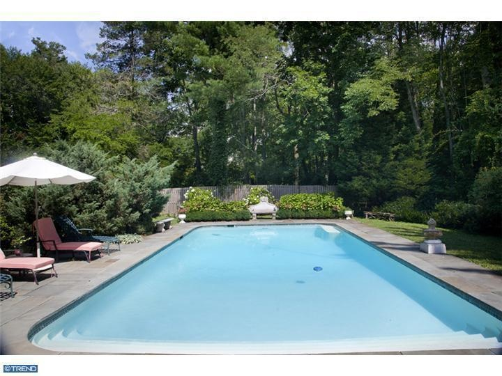 17 best images about pool ideas on pinterest stamped for Simple pool landscaping ideas