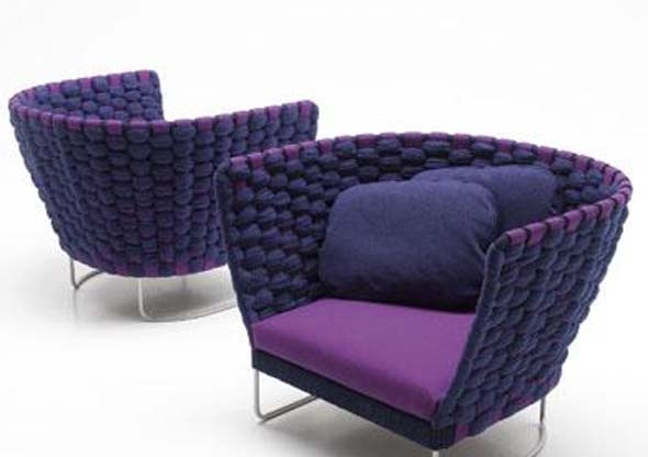 paola lenti #diningchairs #velvetchair #chairdesign comfortable chair, side chair, upholstered chairs | See more at http://modernchairs.eu