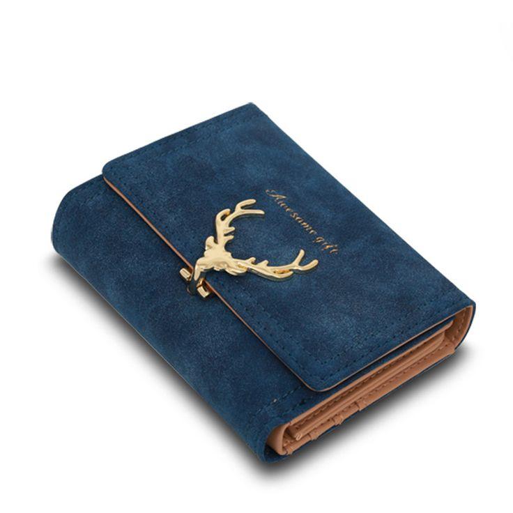 $7.69 (Buy here: https://alitems.com/g/1e8d114494ebda23ff8b16525dc3e8/?i=5&ulp=https%3A%2F%2Fwww.aliexpress.com%2Fitem%2FLatest-Christmas-Deer-Women-Leather-Wallet-VintageTri-Folds-Luxury-Cash-Purse-Girl-Small-Black-Clutch-coin%2F32777430788.html ) 2017 Latest Christmas Deer Women Leather Wallet VintageTri-Folds Luxury Cash Purse Girl Small Black Clutch coin purses holders for just $7.69