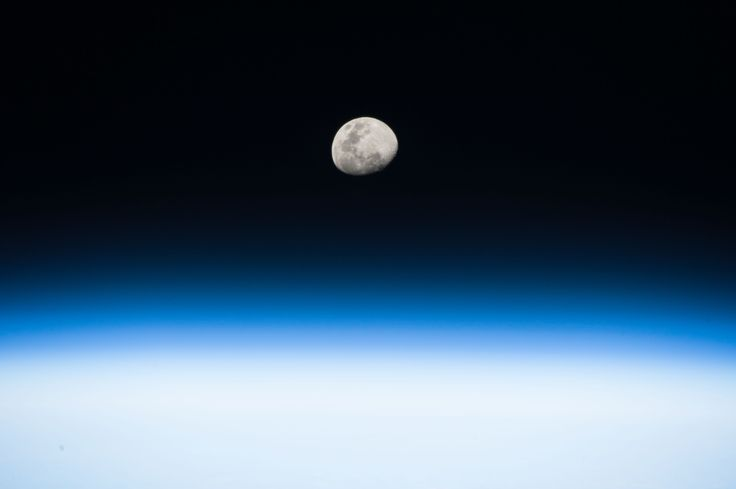 Moon Rise From the Space Station #NASA #ImageoftheDay