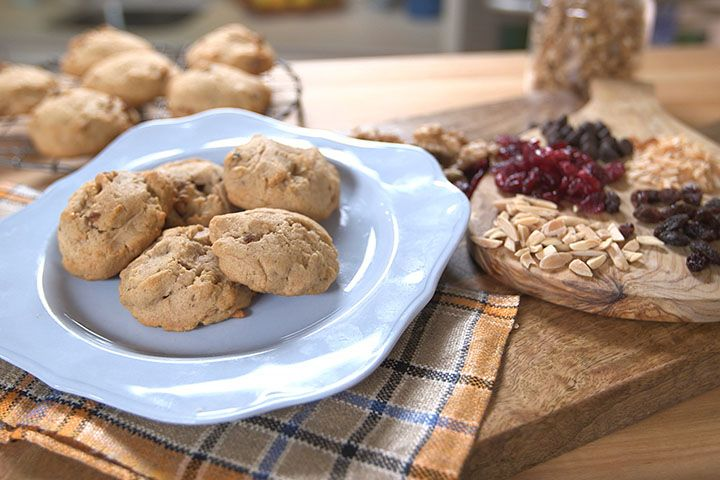 Honey Nut Whole Wheat Cookies Recipe: Make a cookie that's healthier for you with good fats and whole-wheat flour!