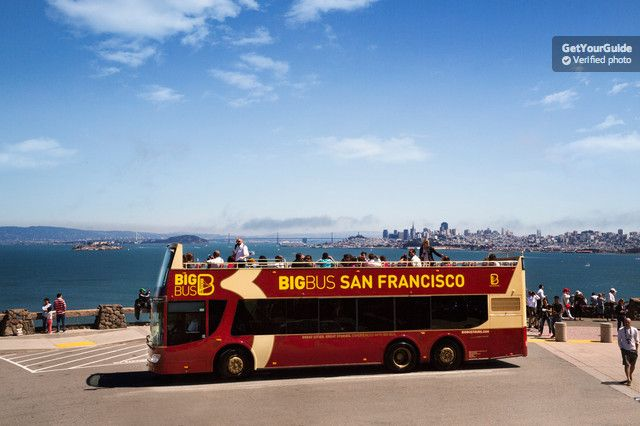 Enjoy significant savings and see more of San Francisco with this combined premium hop-on hop-off ticket and Alcatraz Island visit. Enjoy 1 day of hop-on hop-off sightseeing, guided walking tours of 4 popular city neighborhoods, and enjoy a night tour.