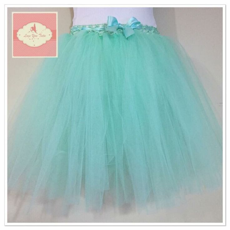 Mint  3/4 tutu skirt  Available on the website  www.loveyoututu.com.au