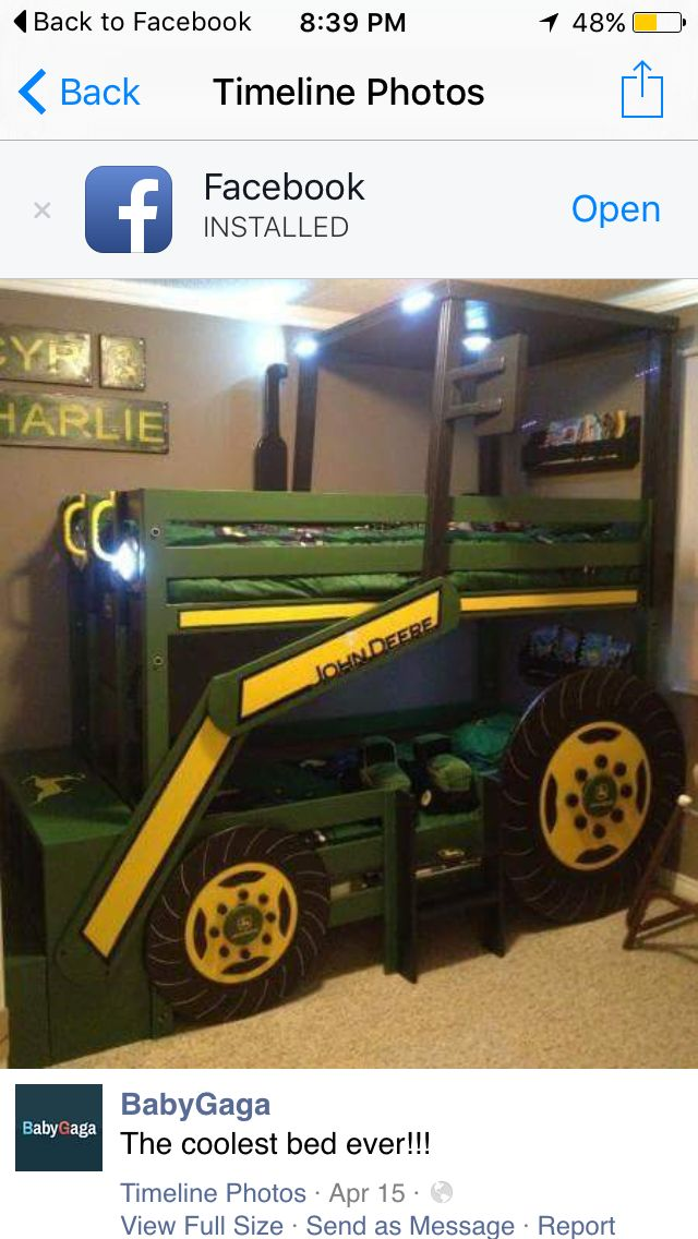 les 25 meilleures id es de la cat gorie lit tracteur sur pinterest tracteurs lit john deere. Black Bedroom Furniture Sets. Home Design Ideas