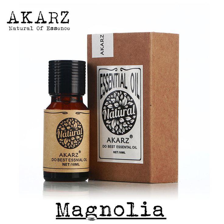 AKARZ Famous brand pure natural Magnolia oil Mind stabilization Anti aging Remove stain Skin regeneration Magnolia essential oil