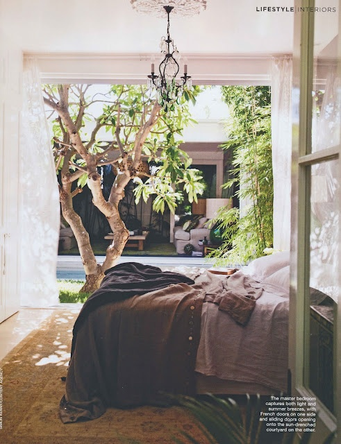 serene bedroom: Dreams Bedrooms, Marcella Kaspar, Houses Interiors, Courtyards Design, Open Spaces, Design Interiors, Indoor Outdoor, Interiors Design, Artists Marcella