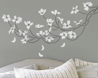 *sigh*  Already have plans for painting the room grey, this would be lovely, too.