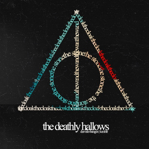 The elder wand the resurrection stone the cloak of for Deathly hallows elder wand