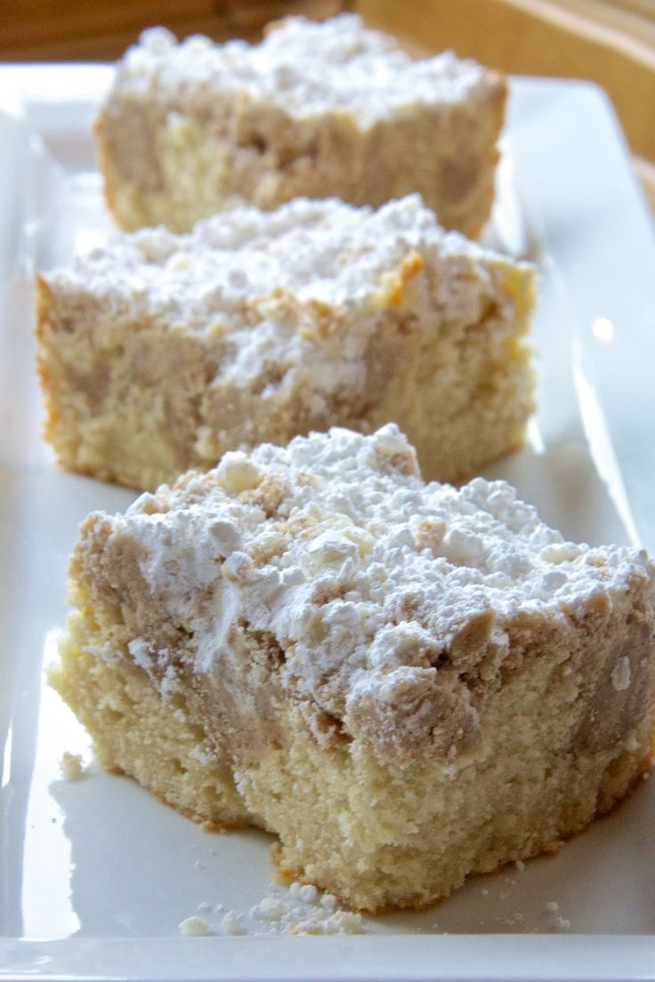 New York Style Crumb Cake, just like Entenmann's, it's so delicious!!!!!