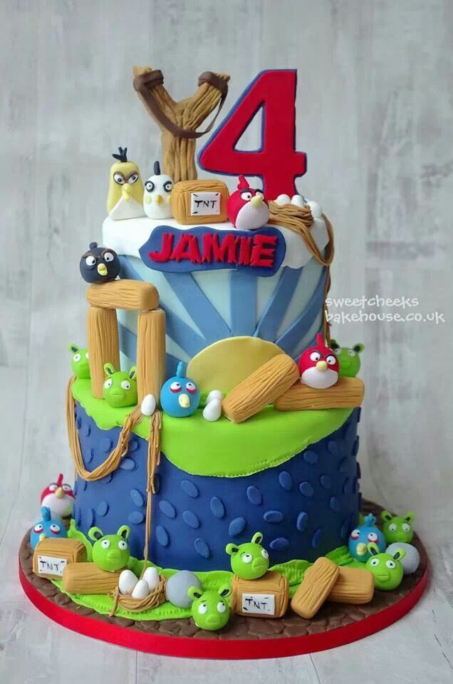 175 best Angry Birds Cakes images on Pinterest Angry birds cake