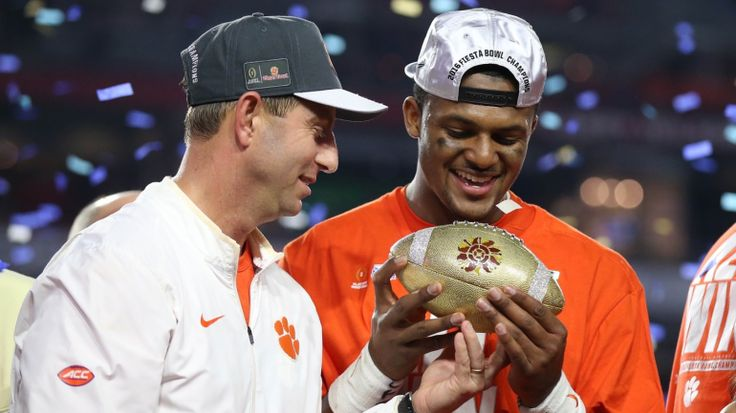 Clemson housed Ohio State in the Fiesta Bowl, and the Tigers head coach was loving it