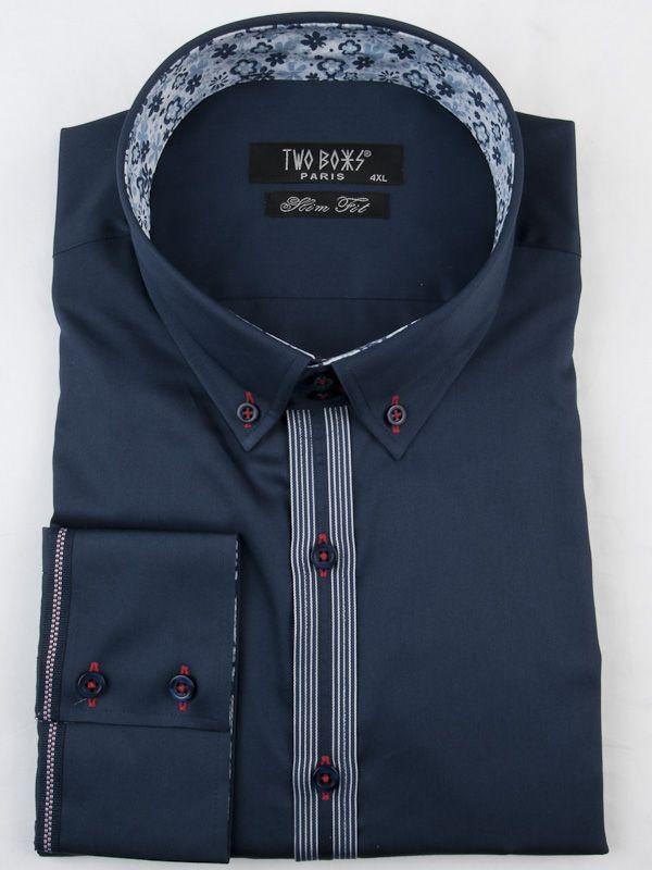 0002598 T&B Shirt-Blue