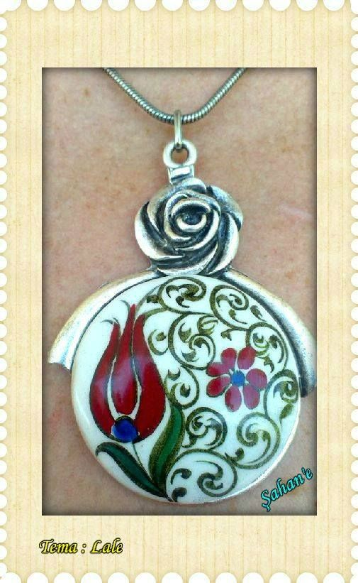 Çini necklace