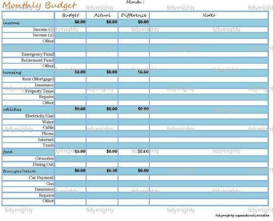 Best  Organize Monthly Bills Ideas On   Organizing