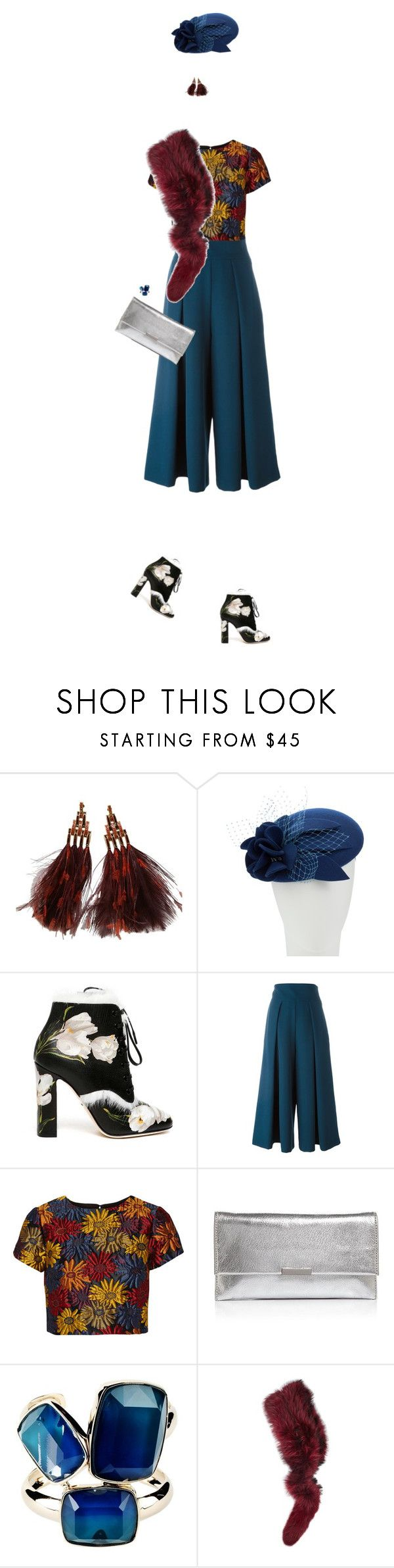 """""""Senza titolo #967"""" by corni-co-te-bravi ❤ liked on Polyvore featuring Louis Vuitton, John Lewis, Dolce&Gabbana, Milly, Alice + Olivia, Loeffler Randall, Elie Saab and Charlotte Simone"""
