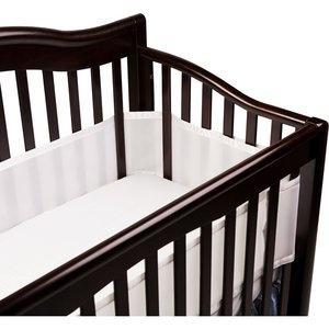 breathable bumper, mesh bumper,breathable baby - http://babyroomideas.co/breathable-baby-breathable-crib-bumper-white/