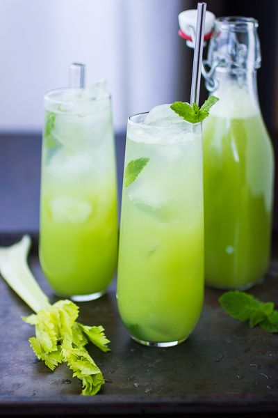 Mint and Celery Soda