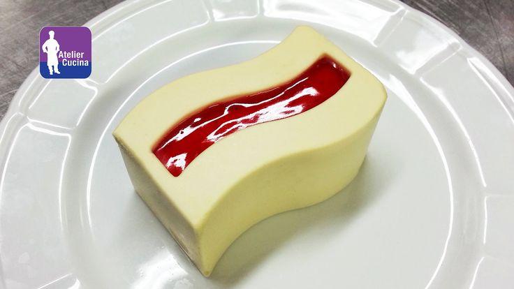 Mousse al cioccolato bianco caramellato