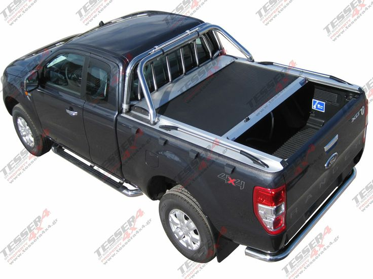 New Ford Ranger (T6) Super Cab: #Ford #Ranger #T6 #2013 #4x4 #accessories #offroad #cars #pickup #truck #roller #lid #best #fashion #off-road #spare parts #cover #super #cab