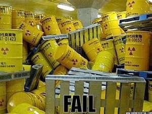 radioactive safety fail