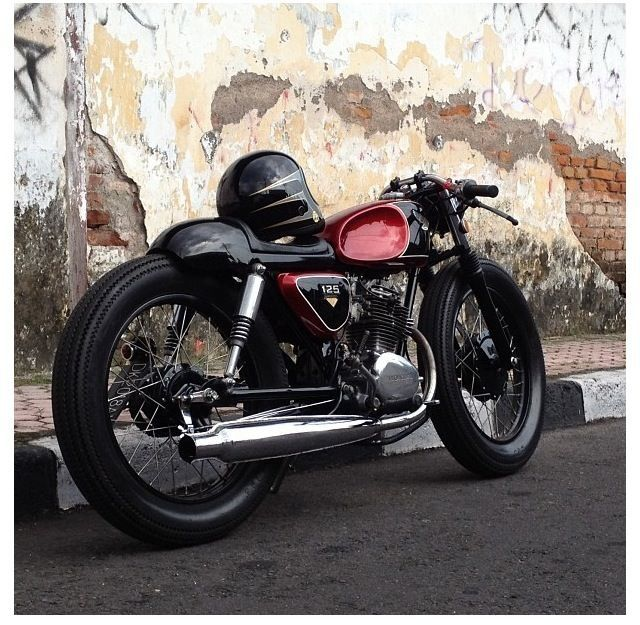 cb125 caferacer honda cb pinterest projects and honda. Black Bedroom Furniture Sets. Home Design Ideas