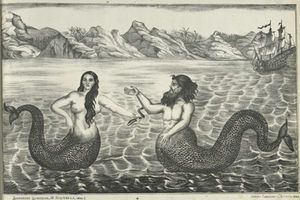 Mermaids & Mermen: Facts & Legends. With nearly three-quarters of the Earth covered by water, it's little wonder that, centuries ago, the oceans were believed to contain many mysterious creatures, including sea serpents and mermaids.