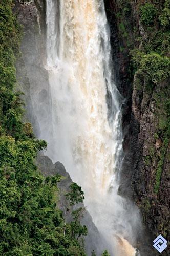 Detalle del Salto de Bordones, Huila, Colombia