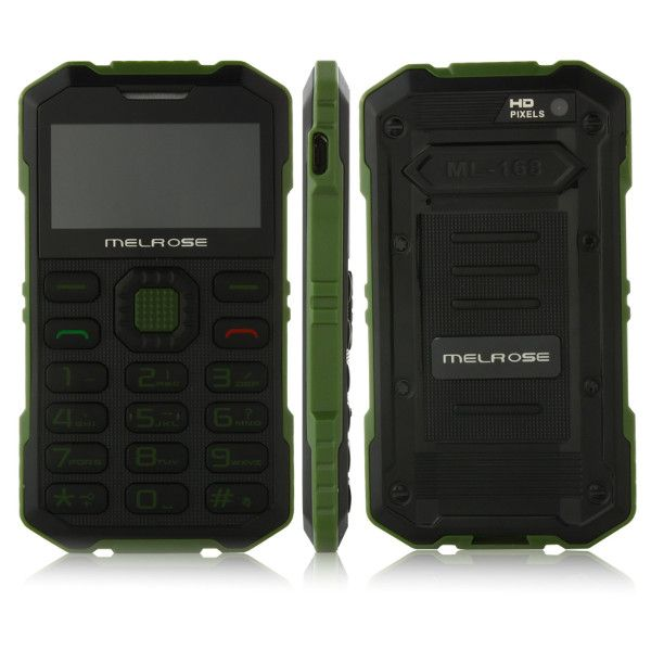 MELROSE S2 1.7-inch Ultra-thin Card Pocket Outdoor Mobile Phone