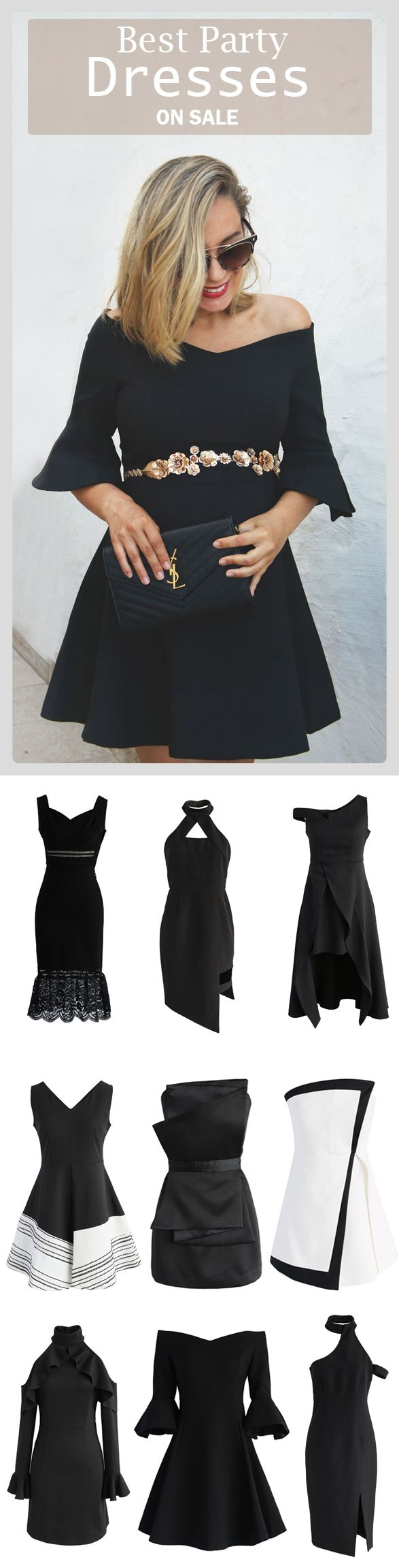 Extra 20% off Storewide  Code: THX20  Ends Nov.10th  Find the cutest party dresses at Chicwish.com Simple Elegance Off-shoulder Dress featured by myshowroomblog