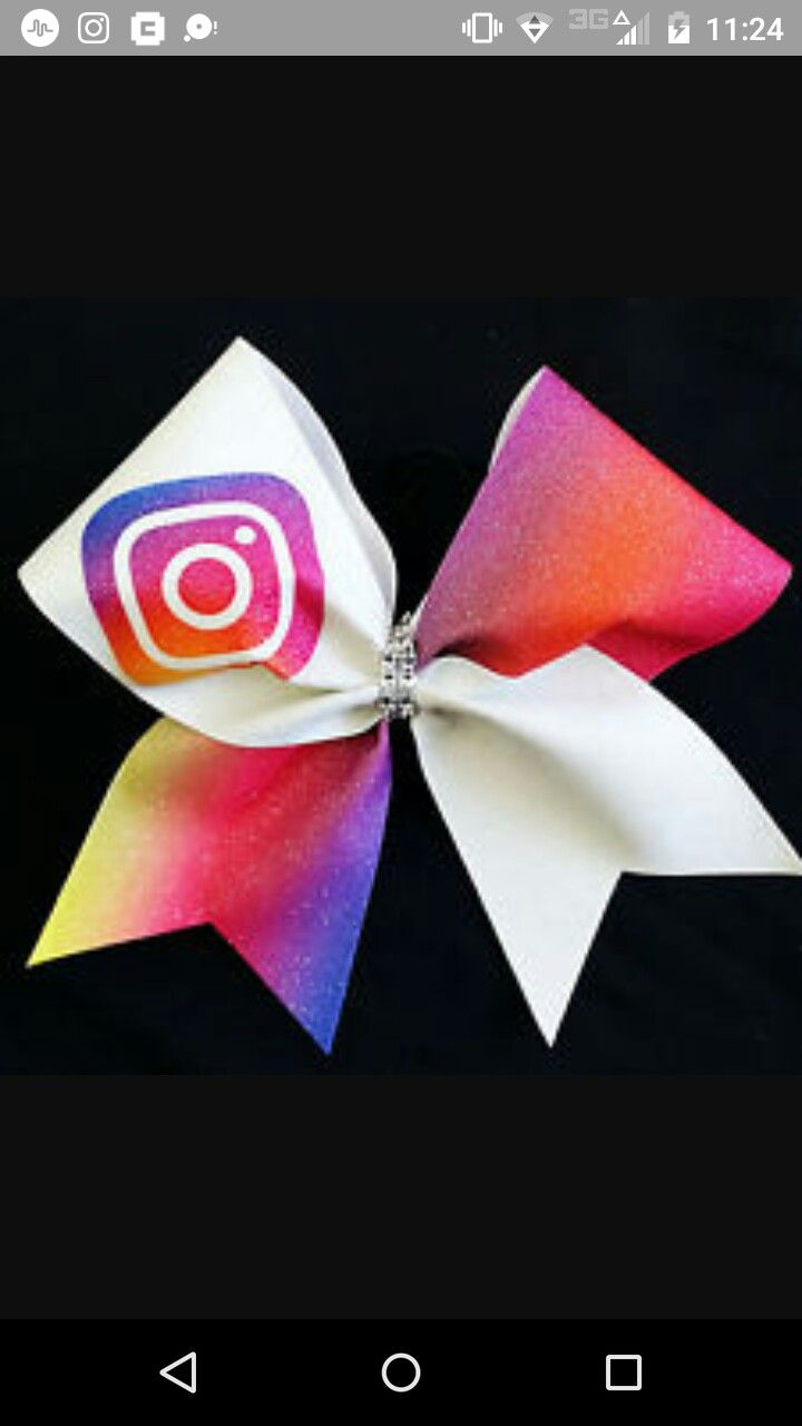 Instagram Cheer Bow