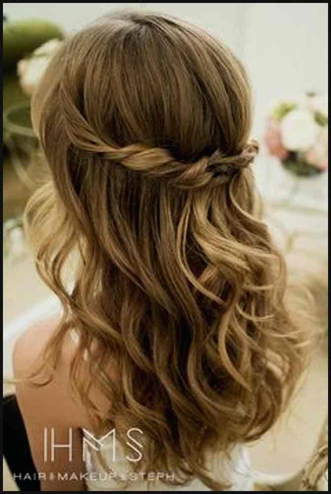 Frisuren Fur Lange Haare Hochzeit Einfache Frisuren Fa 1 4 R Lange