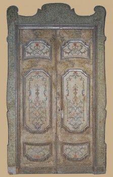 Porta antica originale della seconda metà del 1600