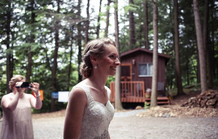 First look | Vintage wedding photography | www.newvintagemedia.ca | Bala Wedding