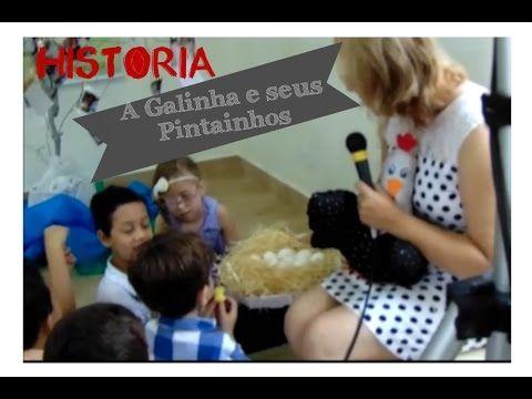 Historia a Galinha e seus Pintainhos