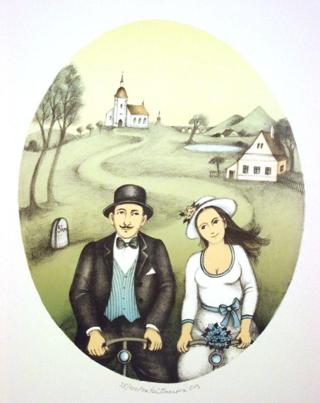 Hüttnerová Iva: Dva na kole