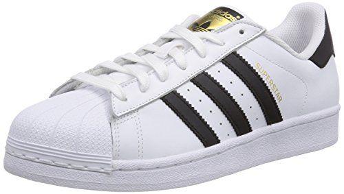 adidas Superstar, Herren Sneakers, Weiß (Ftwr White/Core Black/Ftwr White), 46 EU (11 Herren UK) - http://on-line-kaufen.de/adidas/46-eu-adidas-superstar-herren-sneakers