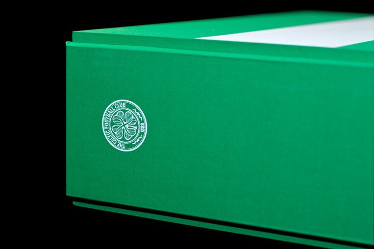 Celtic Football Club Opus #book #design