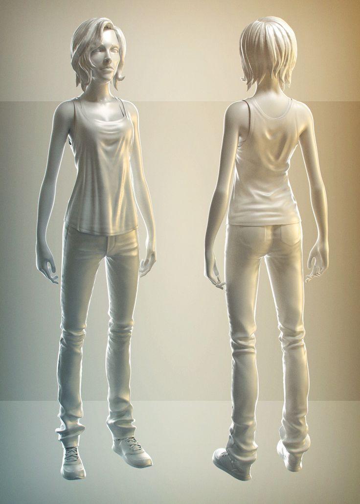Blender 2 6 Character Modeling Tutorial : Best d models images on pinterest modeling art