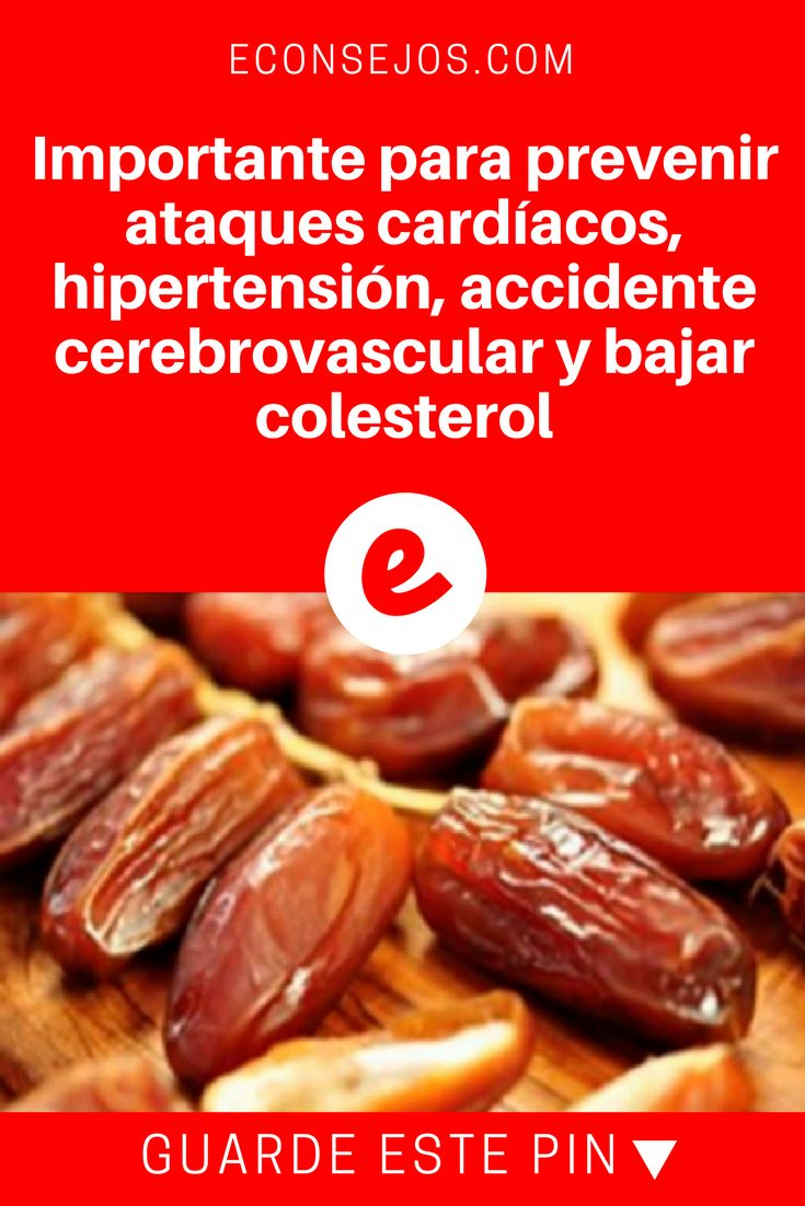 Datiles beneficios   Importante para prevenir ataques cardíacos, hipertensión, accidente cerebrovascular y bajar colesterol   Los científicos lo acaban de confirmar; esta es la fruta numero 1 en el mundo, contra ataques cardíacos, la hipertensión, accidente cerebrovascular y el colesterol. Aprenda dando click en la foto