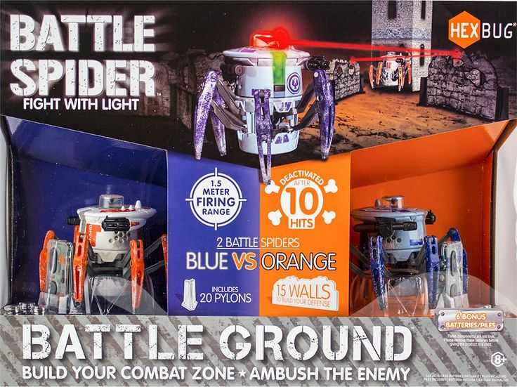 Hexbug - Battle Spider Battle Ground - Multi
