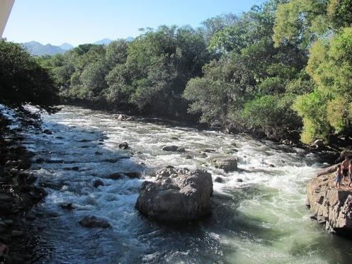Río Guatapurí, Valledupar, Colombia.