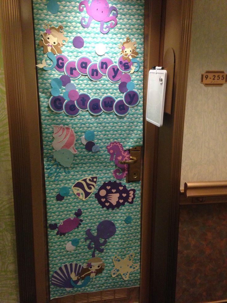 20 best Cruise Door Decorations images on Pinterest ...