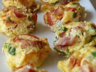 Egg, Prosciutto & Tomato Muffins | Food Net