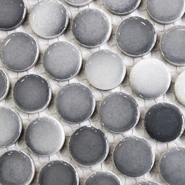 Penny Round Tile Backsplash: 1000+ Ideas About Penny Round Tiles On Pinterest