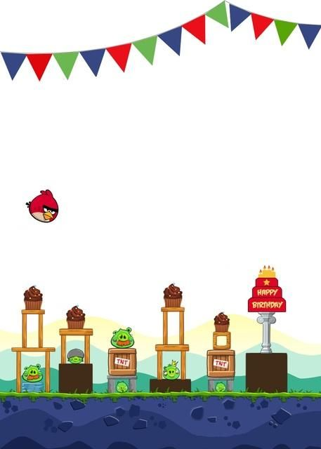 46 best angry birds images on Pinterest | Bird party, Birthday party ...